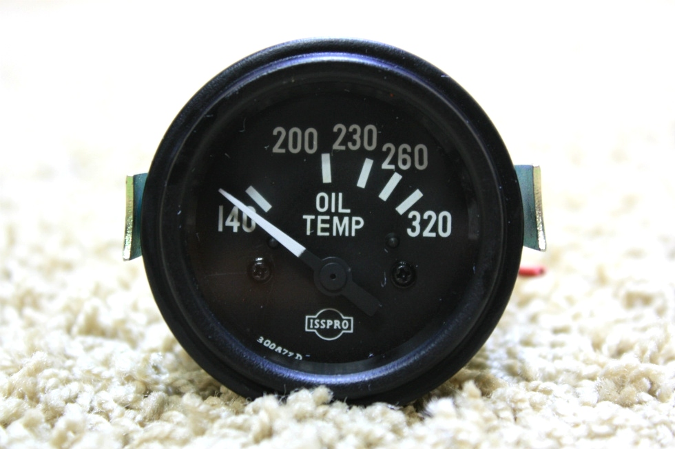 USED ISSPRO OIL TEMP GAUGE R8654 FOR SALE RV Components