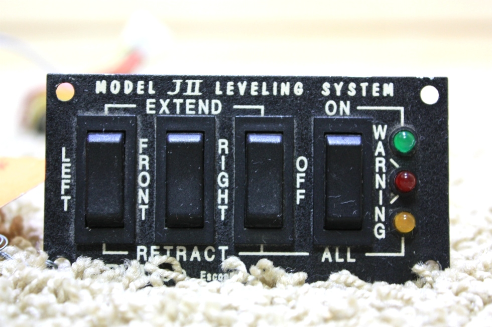 USED RVA MODEL JII LEVELING SYSTEM SWITCHES FOR SALE RV Components