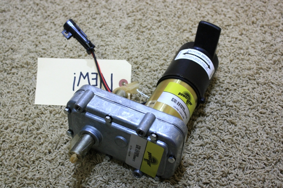 NEW POWER GEAR SLIDE OUT MOTOR 523900 FOR SALE   RV Components