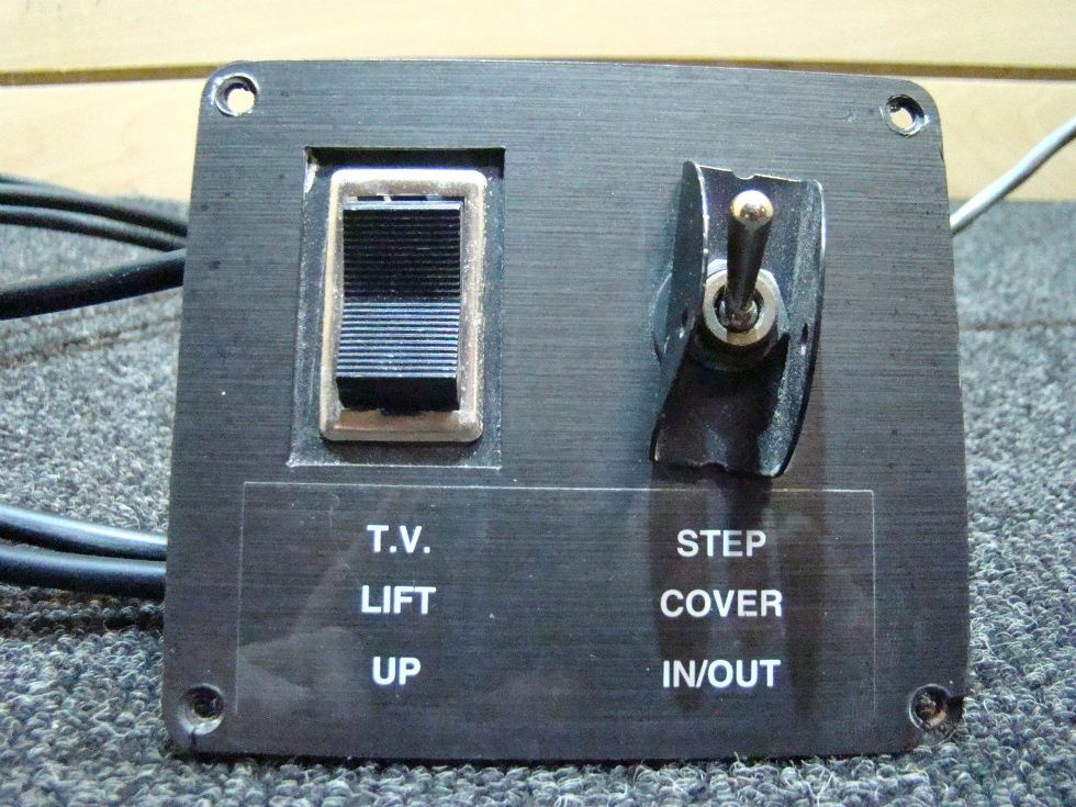 USED RV/MOTORHOME TV LIFT SWITCH/STEP COVER SWITCH FOR SALE RV Components