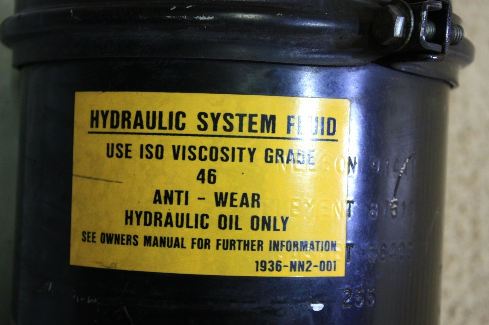 USED HYDRAULIC SYSTEM FLUID TANK 1936-NN2-001 FOR SALE RV Components