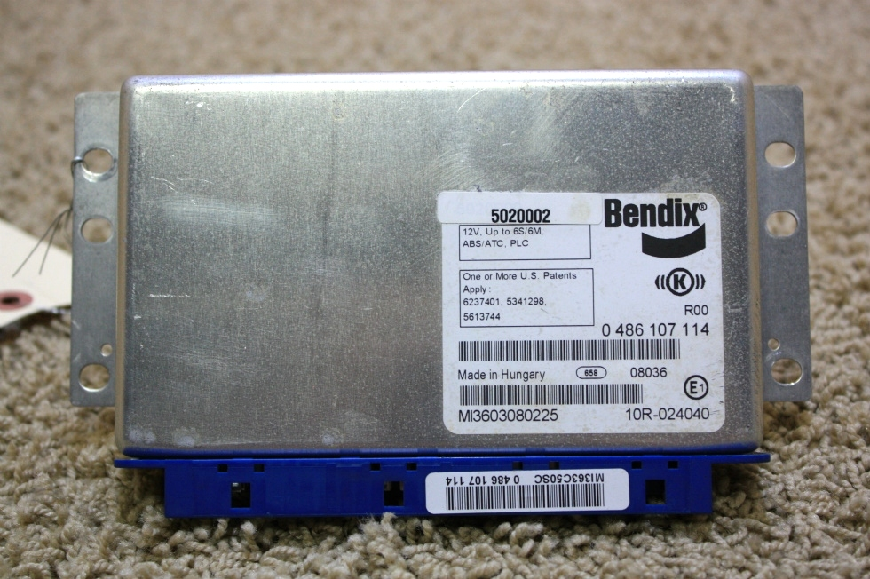 USED BENDIX ABS CONTROL BOARD 5020002 FOR SALE RV Components