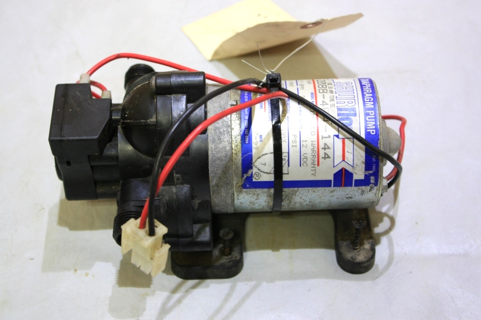 USED SHURFLO WATER PUMP 2088-404-144 FOR SALE RV Components