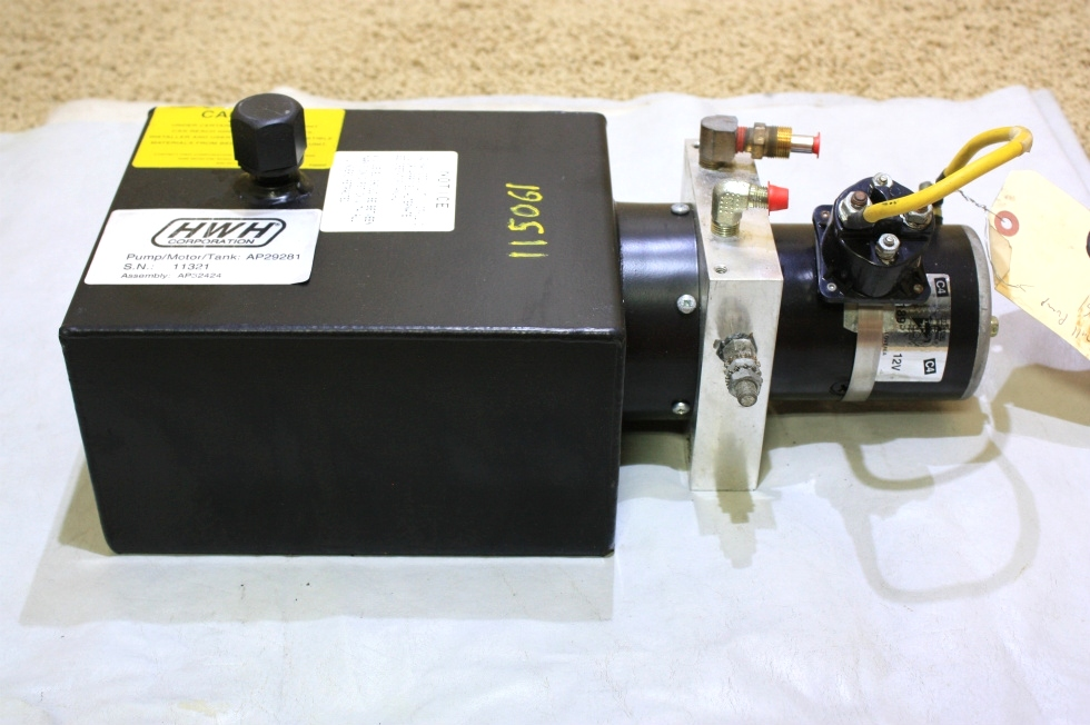 USED HWH HYDRAULIC PUMP AP29281 FOR SALE RV Components