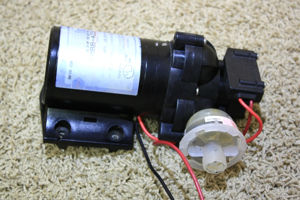 USED SHURFLO WATER PUMP 2088-423-344 FOR SALE RV Components