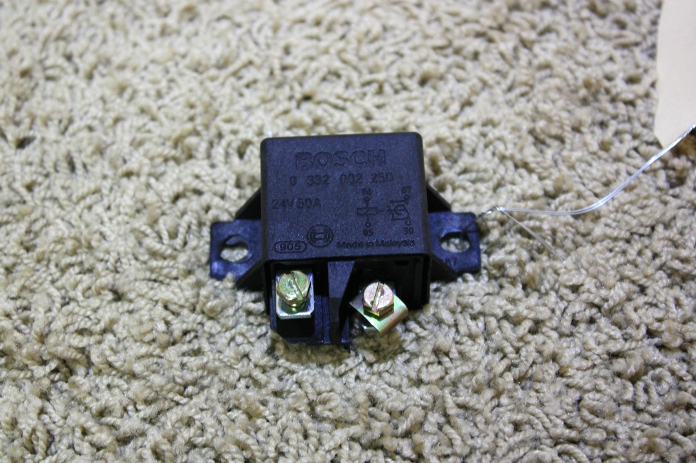 USED RV PARTS BOSCH 24 VOLT DC 50 AMP RELAY FOR SALE RV Components