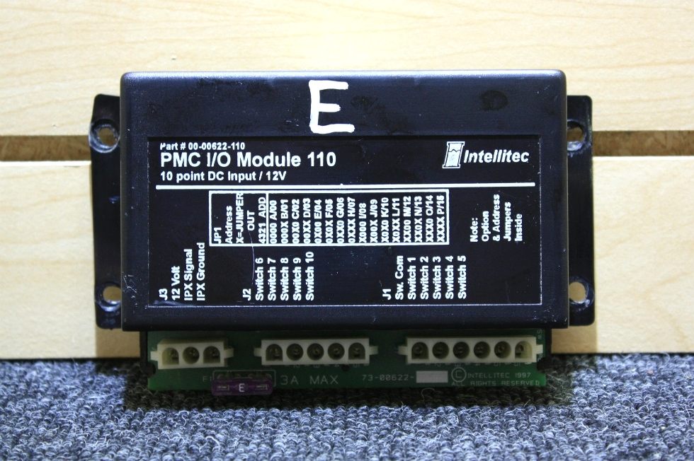 USED RV PARTS INTELLITEC PMC I/O MODULE 110 FOR SALE RV Components