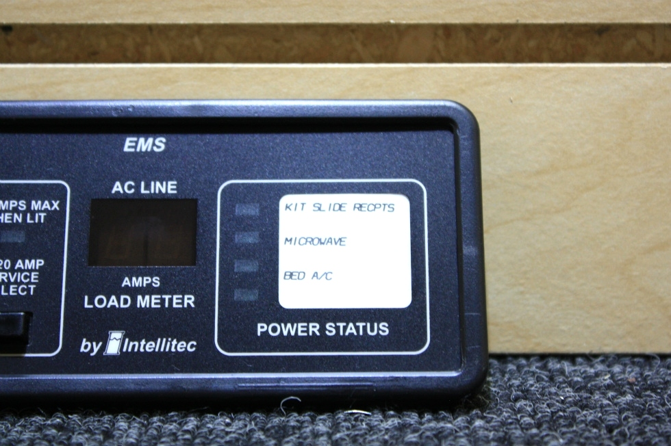 USED RV PARTS INTELLITEC EMS DISPLAY FOR SALE RV Components