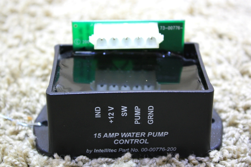 USED RV PARTS INTELLITEC 15AMP WATER PUMP CONTROL 00-00776-200 FOR SALE RV Components