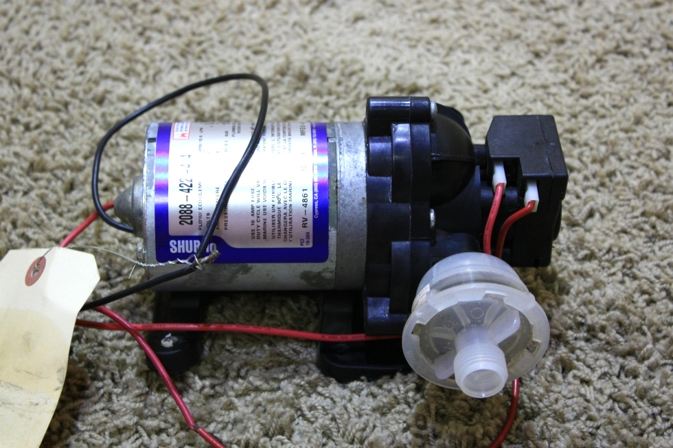 USED RV SHURFLO DIAPHRAGM WATER PUMP 2088-422-444 FOR SALE RV Components