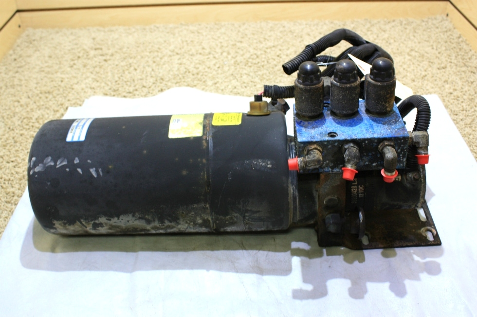 USED MOTORHOME PARTS POWER GEAR HYDRAULIC PUMP 500644 FOR SALE RV Components