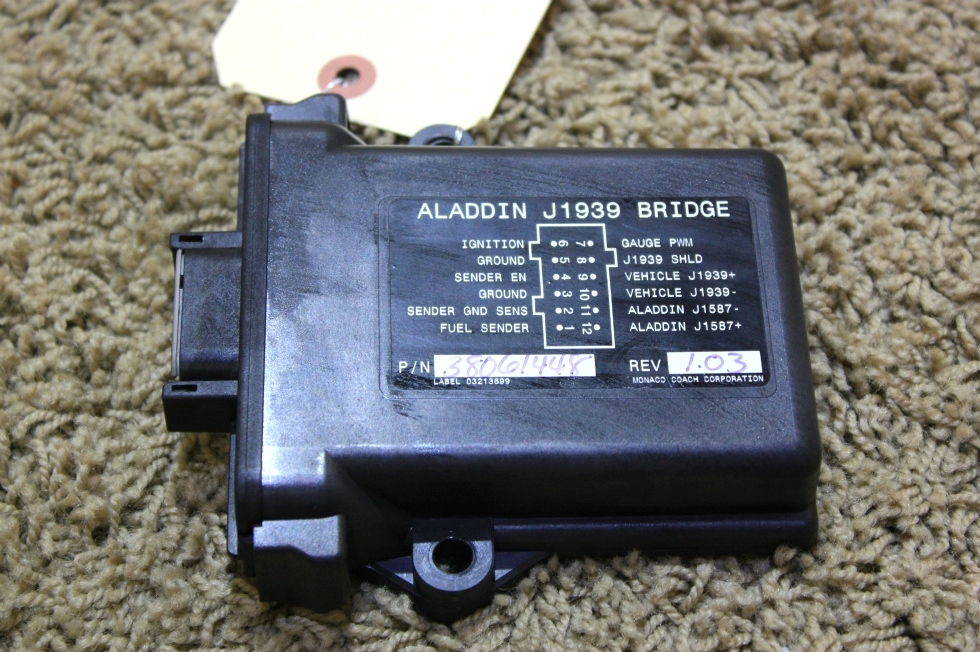 USED ALADDIN J1939 BRIDGE MOTORHOME PARTS FOR SALE RV Components
