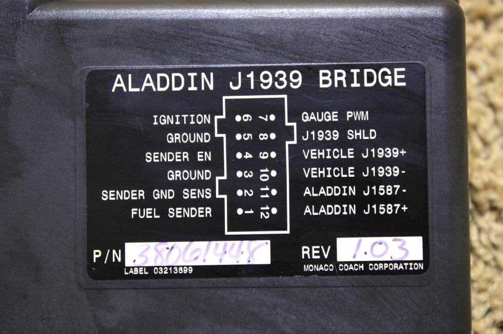 USED ALADDIN J1939 BRIDGE MOTORHOME PARTS FOR SALE RV Components
