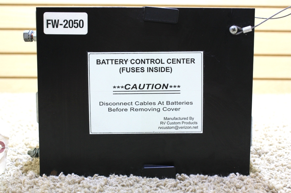 USED MOTORHOME BATTERY CONTROL CENTER FW-2050 FOR SALE RV Components