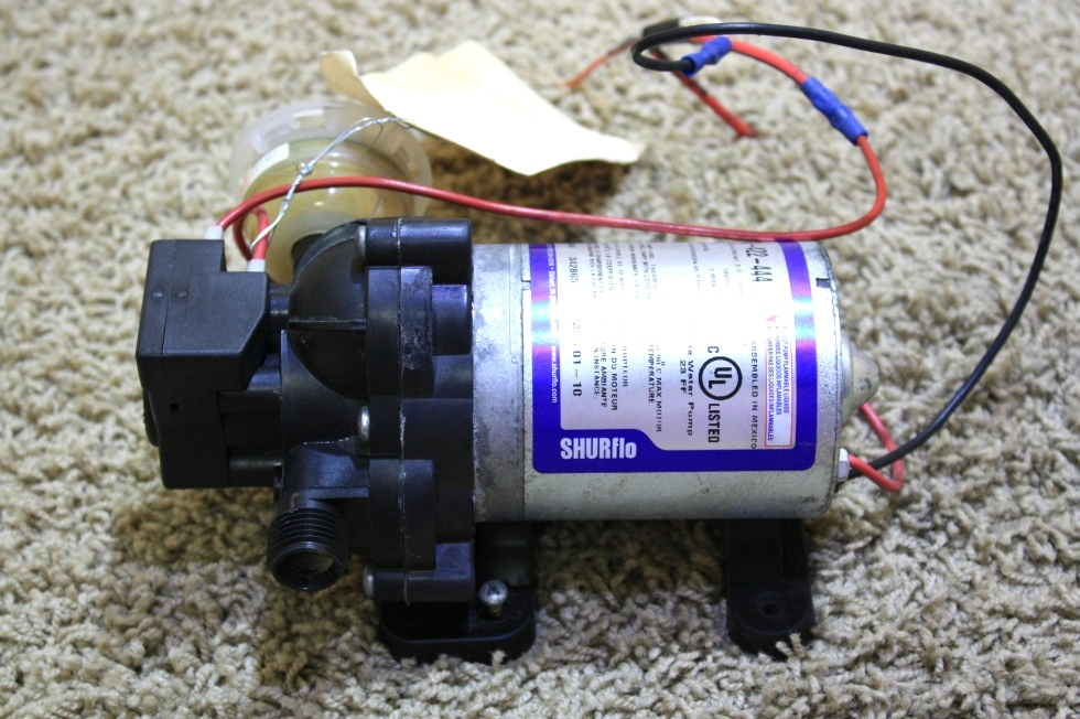 USED MOTORHOME SHIRFLO WATER PUMP 2088-422-444 RV PARTS FOR SALE RV Components