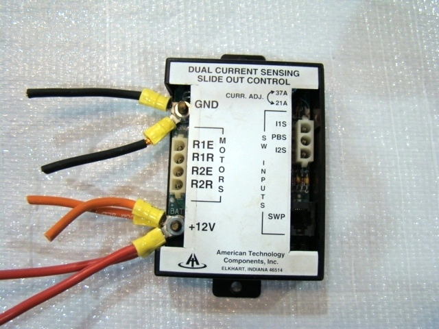 USED AMERICAN TECHNOLOGY COMPONENTS SLIDE-OUT CONTROL - DUAL CURRENT RV Components