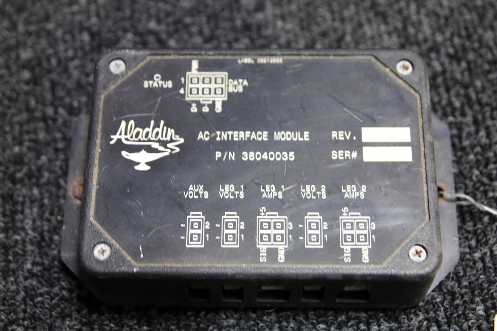 USED ALADDIN AC INTERFACE MODULE P/N: 38040035 RV Components