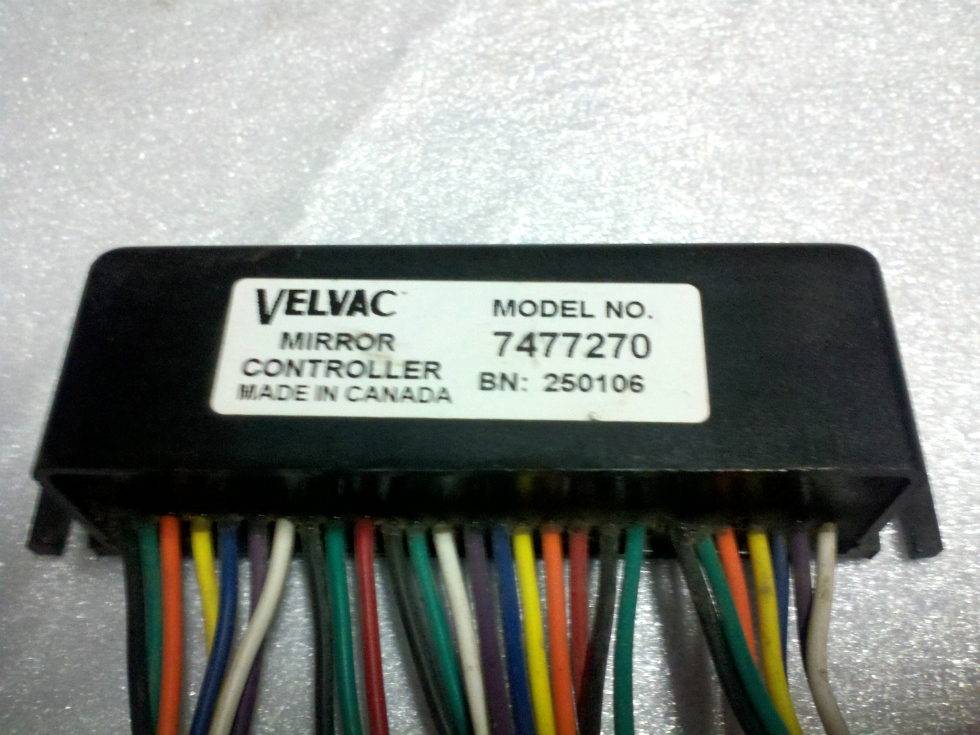 USED VELVAC MIRROR CONTROLLER PN 7477270 FOR SALE RV Components