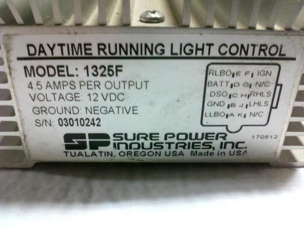 USED RV/MOTORHOME DAYTIME RUNNING LIGHT CONTROL MODEL 1325F RV Components
