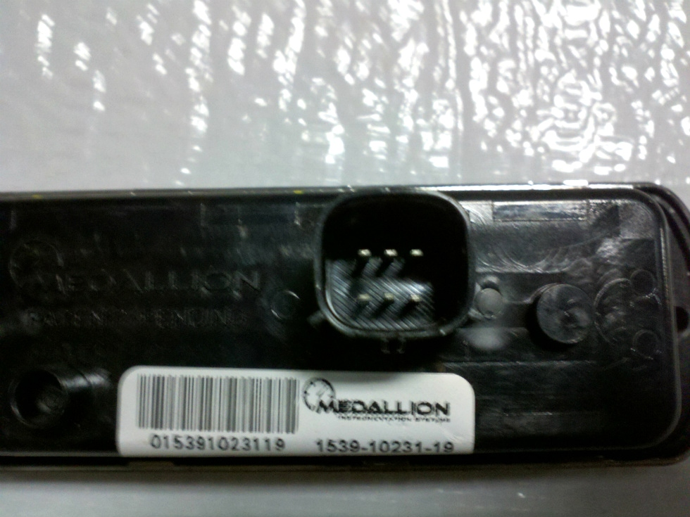 USED MEDALLION 10 BUTTON LIGHT MODULE PN: 1539-10231-19 FOR SALE RV Components