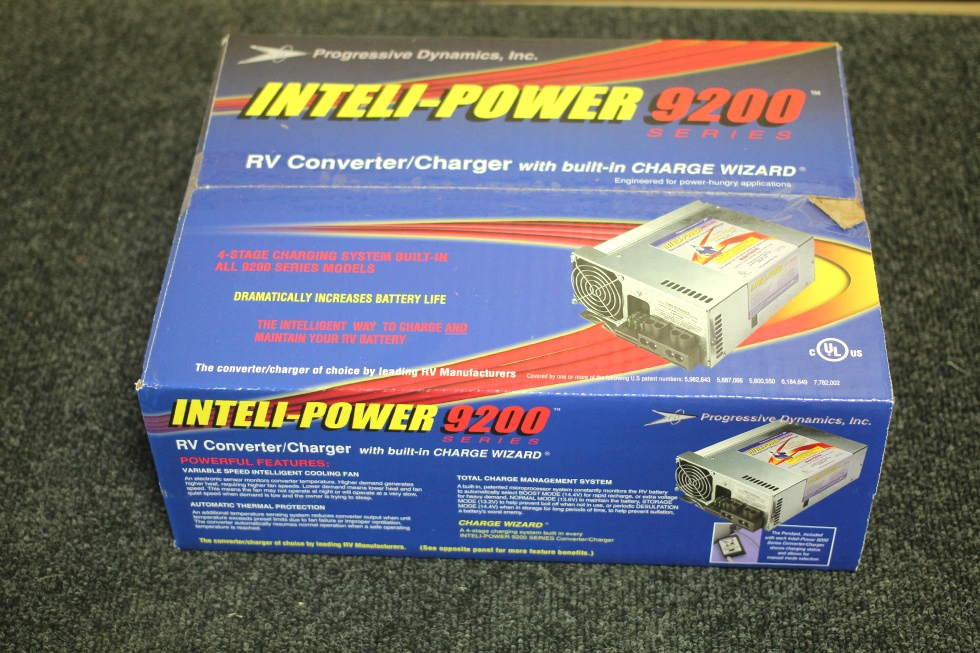 NEW INTELLI-POWER 60 AMP ELECTRONIC POWER CONVERTER W/ BUILT IN CHARGE WIZARD P/N: PD9260-CV RV Components