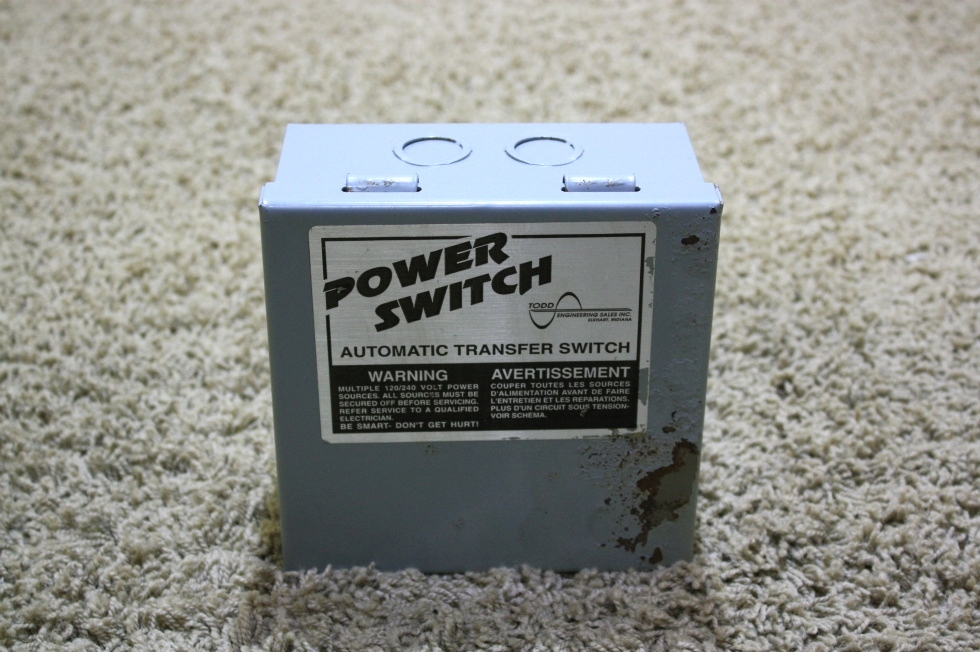 USED MOTORHOME POWER SWITCH AUTOMATIC TRANSFER SWITCH TS-30AC RV PARTS FOR SALE RV Components
