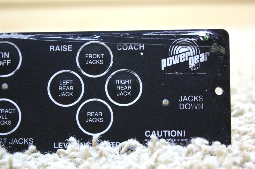 USED RV POWER GEAR LEVELING CONTROL TOUCH PAD 500456 MOTORHOME PARTS FOR SALE RV Components