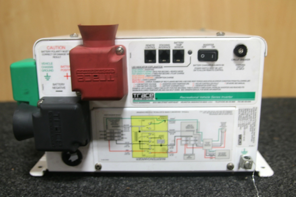 Rv Components Used Trace Engineering Rv Inverter Model