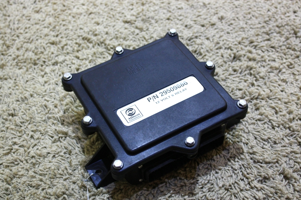 USED ALLISTON TRANSMISSION 12 VOLT 6 RELAY 29509886 RV PARTS FOR SALE RV Components