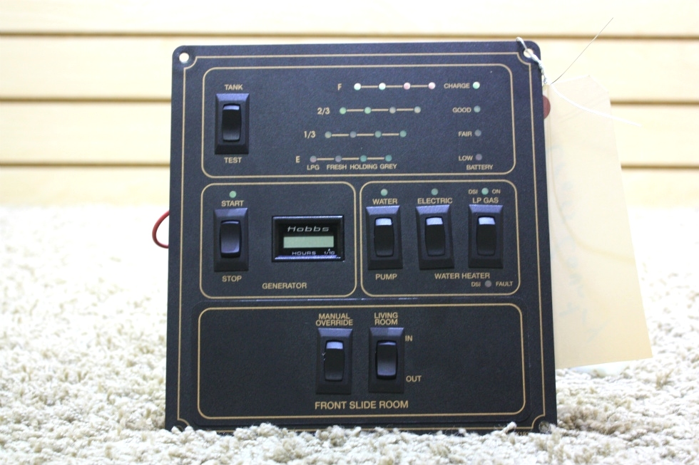 USED MOTORHOME TANK INDICATOR PANEL RV PARTS FOR SALE RV Components