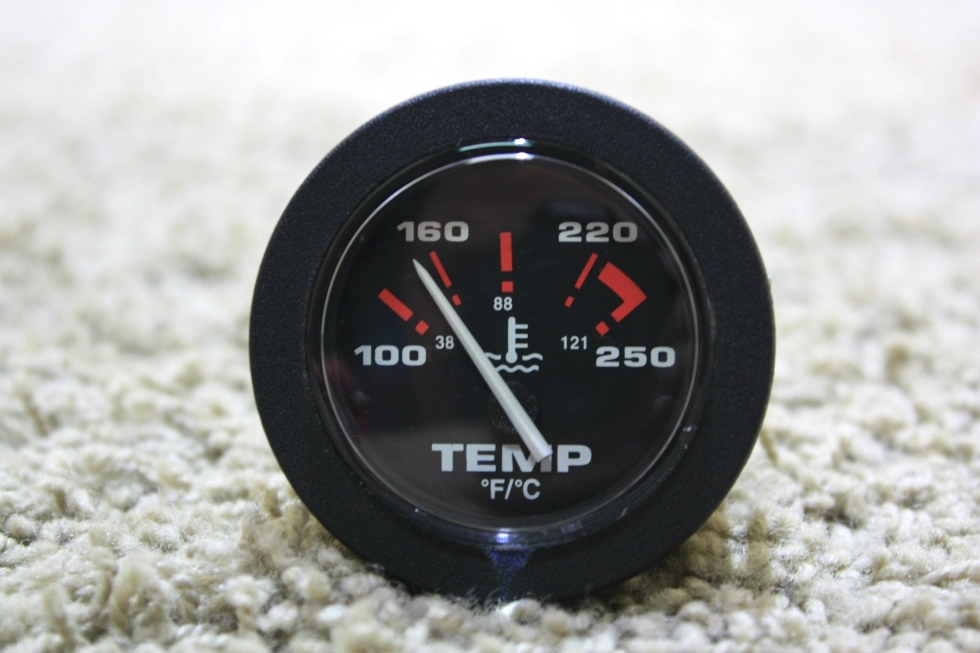 USED RV TEMPERATURE DASH GAUGE 57914 MOTORHOME PARTS FOR SALE RV Components