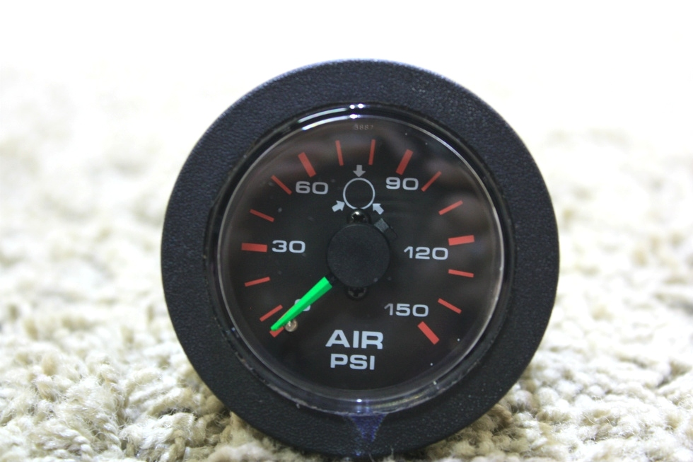 USED MOTORHOME AIR PRESSURE GAUGE 10400 RV PARTS FOR SALE RV Components