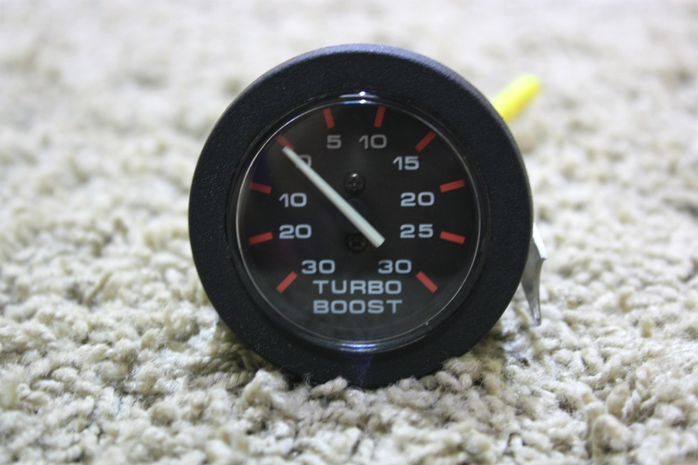 USED TURBO BOOST MOTORHOME DASH GAUGE 10411 FOR SALE RV Components