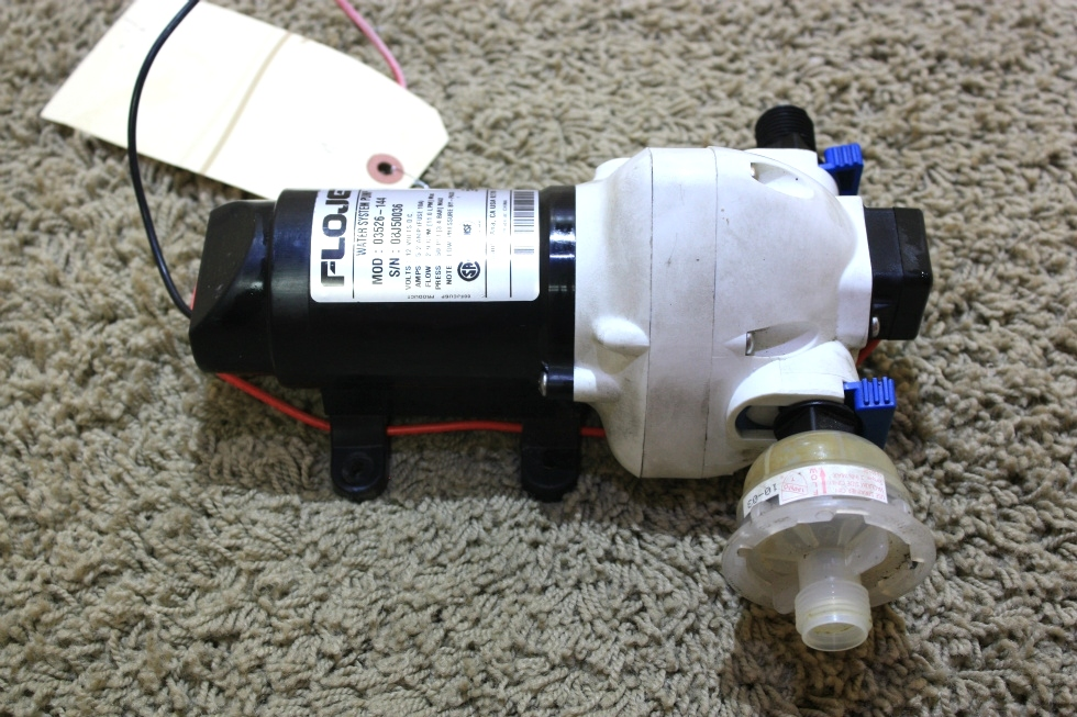 USED FLOJET WATER SYSTEM PUMP 03526-144 RV PARTS FOR SALE RV Components