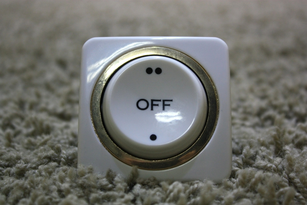 USED RV INTERIOR ON/OFF SWITCH MOTORHOME PARTS FOR SALE RV Components