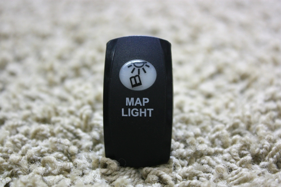 USED MOTORHOME MAP LIGHT ON/OFF DASH SWITCH FOR SALE RV Components