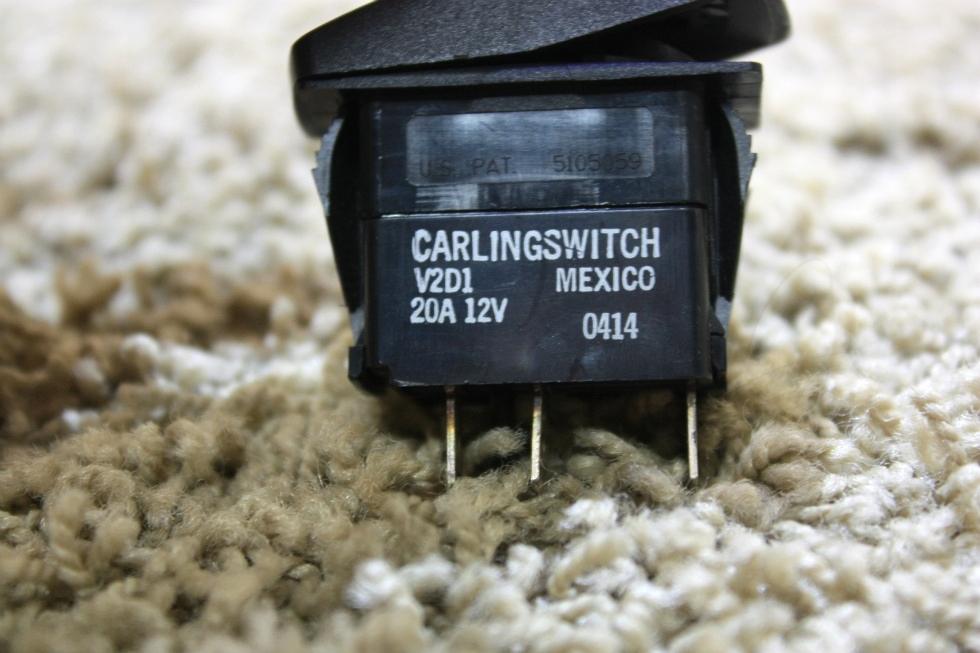 USED RV BATTERY CARLINGSWITCH DASH SWITCH V2D1 FOR SALE RV Components