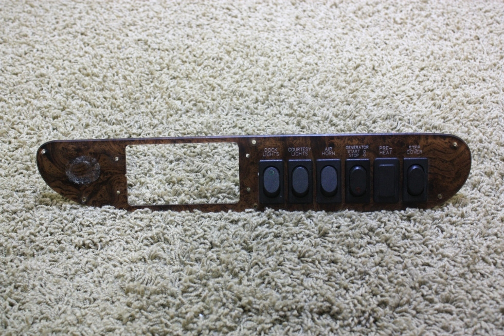 USED RV DASH SWITCH PANEL FOR SALE RV Components