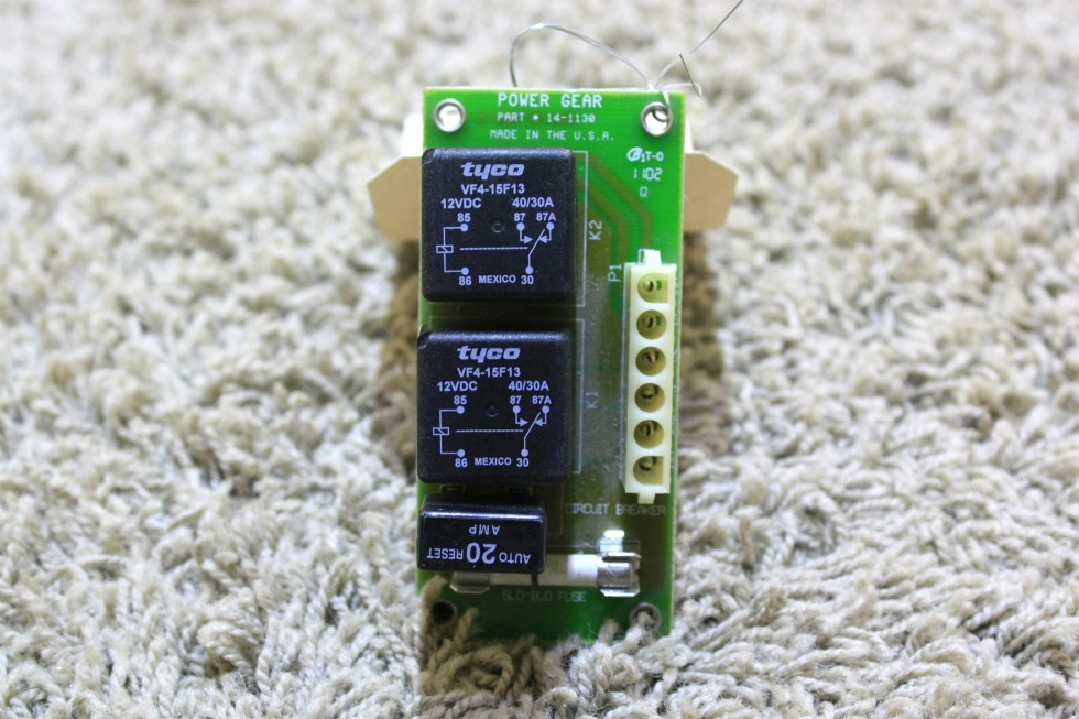 USED POWER GEAR RV SLIDE OUT CONTROL BOARD 14-1130 FOR SALE RV Components