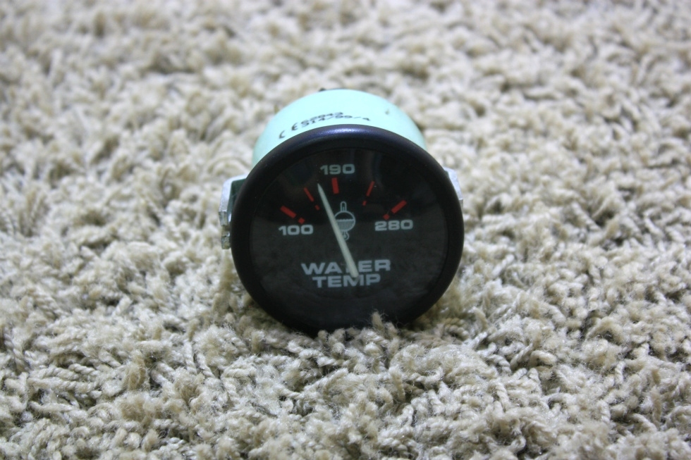 USED MOTORHOME WATER TEMPERATURE GAUGE 62843 FOR SALE RV Components