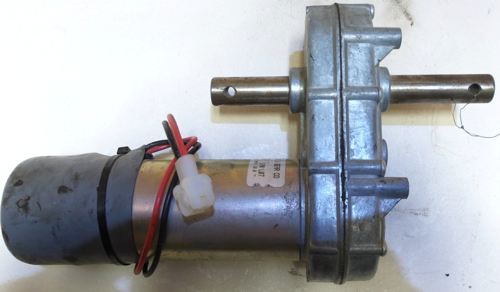 USED KLAUBER SLIDE OUT MOTOR P/N K01285F350 FOR SALE  RV Components