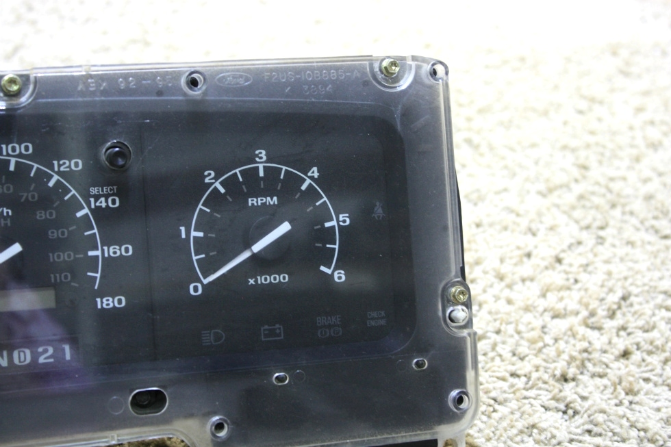 USED 1996 - 1997 FORD RV F-SERIES DASH CLUSTER F6TD-10849-BB FOR SALE RV Components