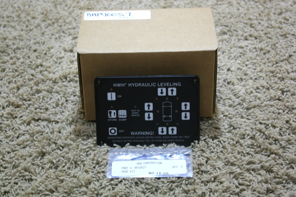 HWH HYDRAULIC LEVELING TOUCH PAD AP10054 RV PARTS FOR SALE RV Components