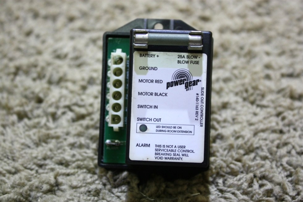USED MOTORHOME POWER GEAR SLIDE OUT CONTROLLER 140-1163 FOR SALE RV Components