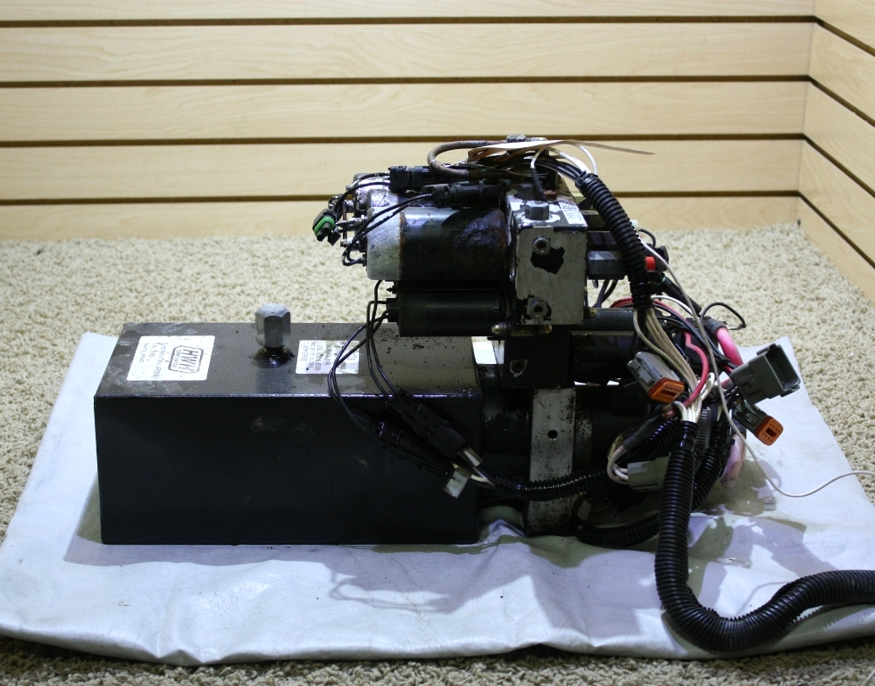 USED RV HWH HYDRAULIC PUMP/MOTOR/TANK  AP2260 FOR SALE RV Components