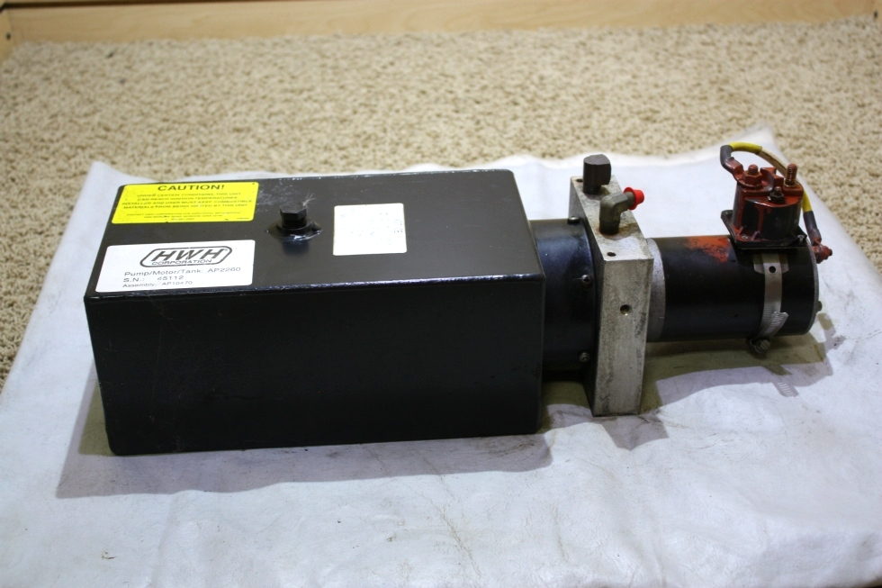 USED HWH MOTORHOME HYDRAULIC PUMP AP2260 FOR SALE RV Components