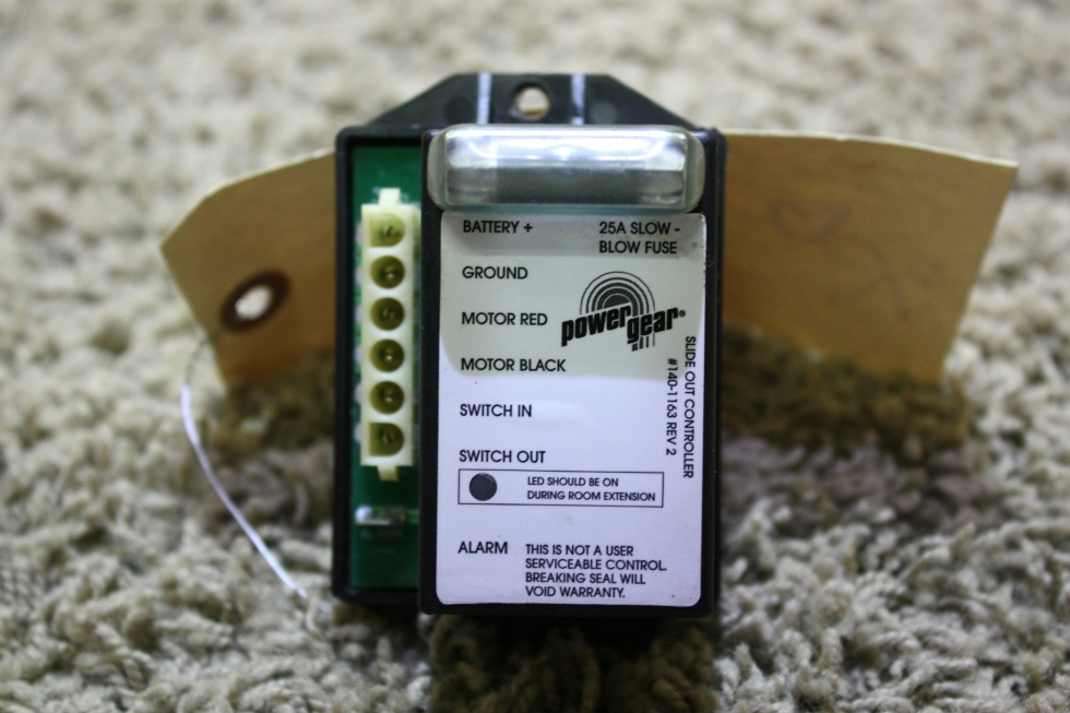 USED POWER GEAR RV SLIDE OUT CONTROLLER 140-1163 FOR SALE RV Components