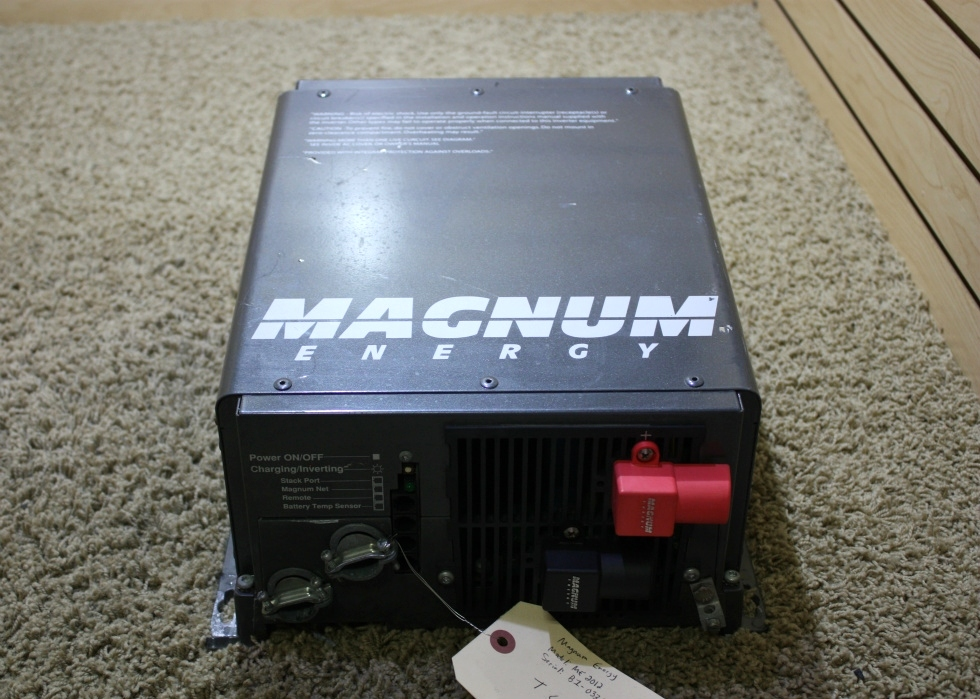 USED MOTORHOME MAGNUM ENERGY ME2012 INVERTER CHARGER FOR SALE RV Components