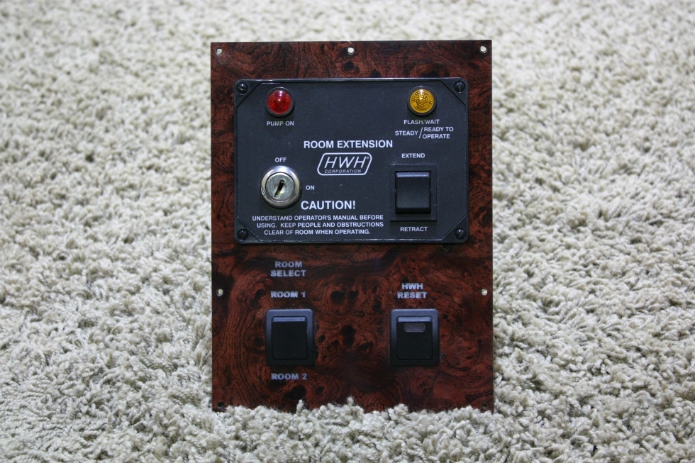 USED HWH ROOM EXTENSION CONTROL PANEL AP22475 MOTORHOME PARTS FOR SALE RV Components