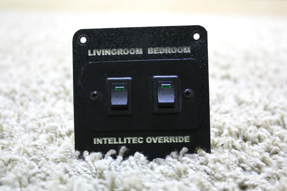 USED RV INTELLITEC OVERRIDE LIVINGROOM & BEDROOM SWITCHES FOR SALE RV Components